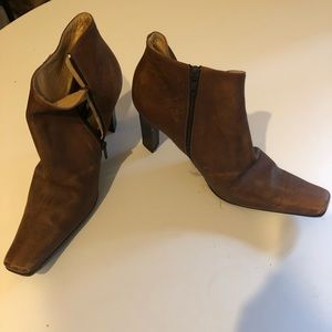 Pair of Nine West ankle boots. Worn twice.